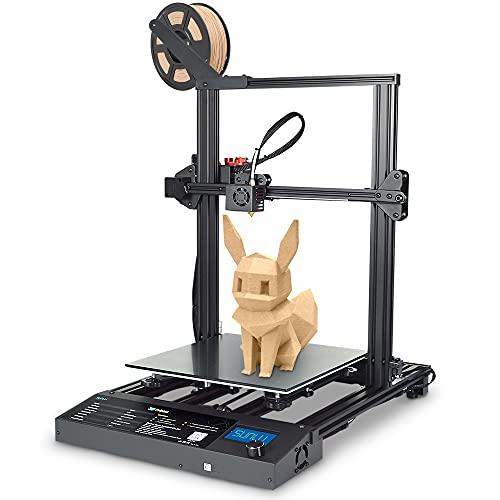 Impresora 3D S8, tamaño de impresión grande de 310 x 310 x 400 mm, modelo de eje doble, doble Z, DIY FDM, montaje rápido, base...