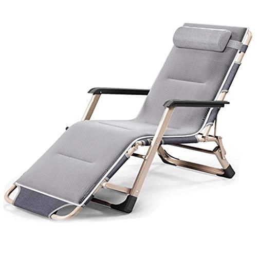 Silla reclinada de la silla de cubierta, silla plegable de la silla de la silla de la silla de la silla de la silla de la oficina de la oficina de la oficina de la oficina de la casa del hogar Portáti