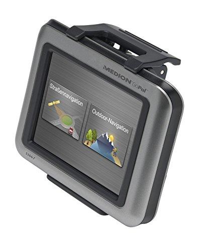 Medion GoPal S3747 Navigationssystem (8,9 cm (3,5 Zoll) Display, Deutschland Topografisches Kartenmaterial, TMC, Bluetooth)