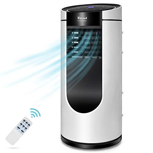 Climatiseur mobile, 9 000 BTU/H réfrigération/purification/ventilation/déshumidification, conception intégrée sans installation et vidange, adapté à la maison/au bureau, classe énergétique A