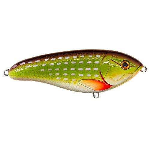 Illex - Dexter Jerk 120 - Jerkbait sinkend - Länge 120 mm - Gewicht 60 Gramm - Farbe Pike - Tauchtiefe 0,1-1 m