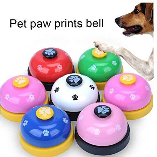 Angoter Katze Hundespielzeug Hunde Trainings-Hundetraining Clicker Pet Supplies Bell-Trainer Bell Großhandel Training Tierbedarf zufällige Farbe