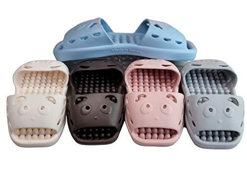 清川商事有限会社 両方向スリッパ 両履き ベランダ トイレ 浴室 などKI01 (青, L 27cm~29cm)