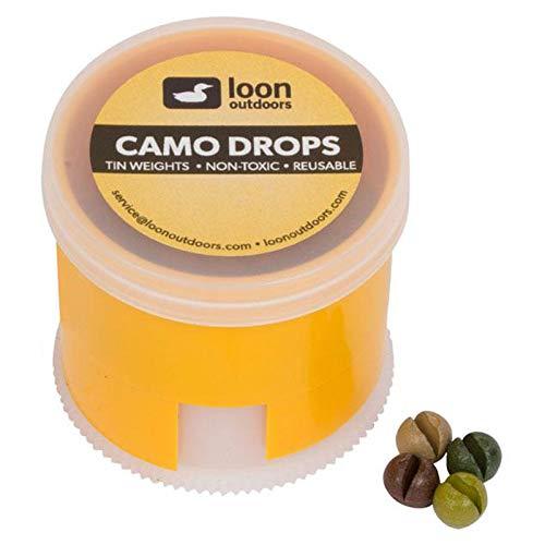 Loon Outdoors Camo Drops Split Shot | Twist Pot - No.BB