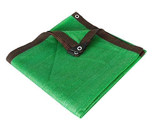 Yeanee Verde Malla Sombreo 85%,Red de Sombreado para Invernadero,Lona de Protección,Regula Temperatura,2x3m 2x5m 3x3m 3x8m 4x7m 4x9m 5x6m 5x12m 6x6m 6x8m 8x8m 10x10m 10x15m
