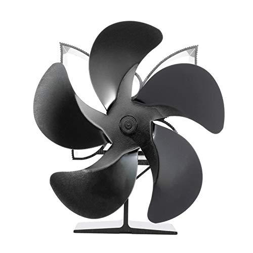 Bidet Holzofen Ventilator, 5-Klingen-Kamin Fan Quiet sichere Wärme Powered Holzofen oder Pelletofen effektiv Dispergierwerkzeuge Warmluft for Holz/Holzofen/Kamin (Color : SF902S)