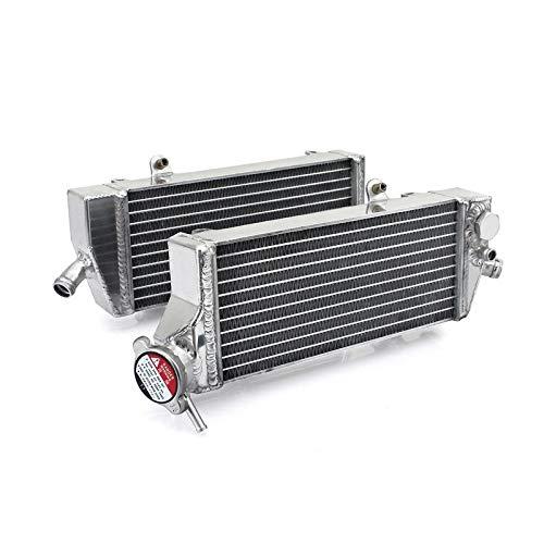 Enfriador Radiador derecha y izquierda para KTM EXC-F 4-Tiempos 08-16