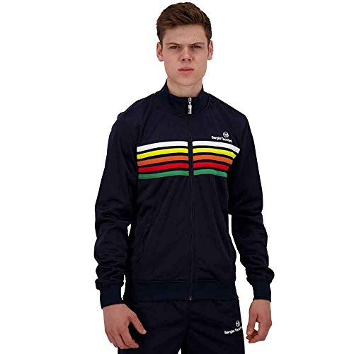 Sergio Tacchini Varena Track Top Jacket Night Sky - Chaqueta deportiva de rayas Negro XL