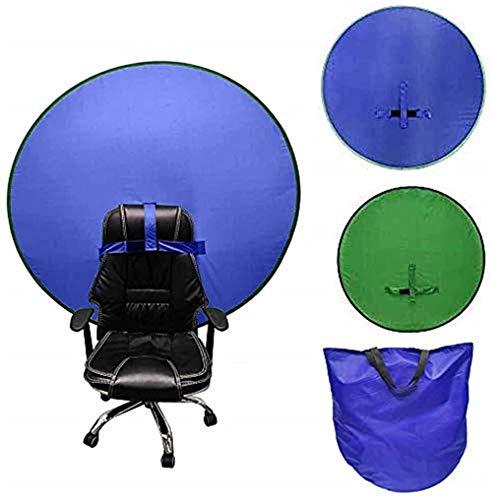 Grün Blau Hintergrund Faltbar 142cm Doppelseitiger Rollup Greenscreen Hintergrund Hintergrund Vliesstoff Einfarbig Green Screen Foto Hintergrund Studio Fotografie Requisiten Double Side Green Blue