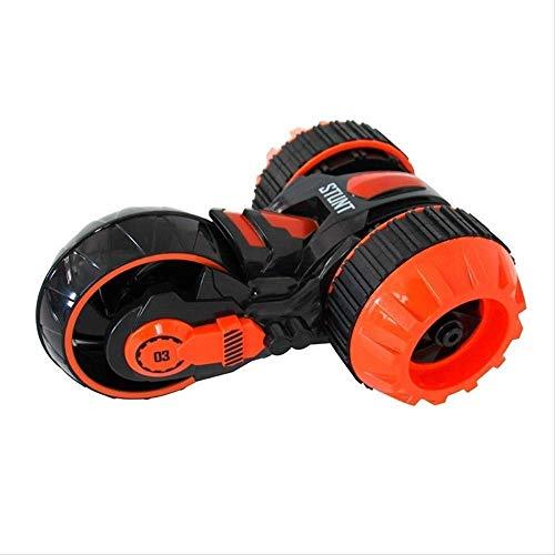 Pkjskh RC de tres ruedas coche eléctrico transformador de juguetes Dump SUV niños eléctrico remoto regalos de cumpleaños del coche del control de niño juguete de los niños