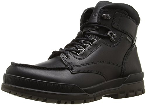 ECCO Men's Track 6 Gore-Tex Moc Toe High Winter Boot, Black, 39 EU/5-5.5 M US