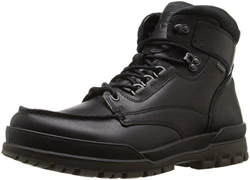 ECCO Men's Track 6 Gore-Tex Moc Toe High Winter Boot, Black, 39 EU/5-5.5 M US