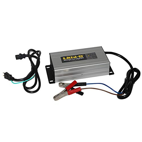 LifePO4 リチウムバッテリー リチビー(Lithi-B)バッテリー専用充電器 12V用 10A(PSEマーク対応)