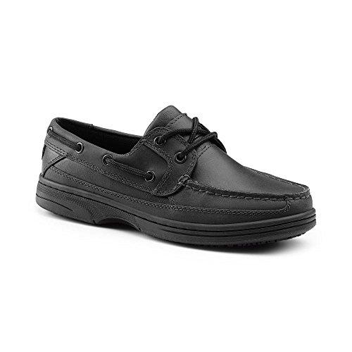 Keuka SureGrip Women's Palmetto Black Slip-Resistant Casual Shoe 11M