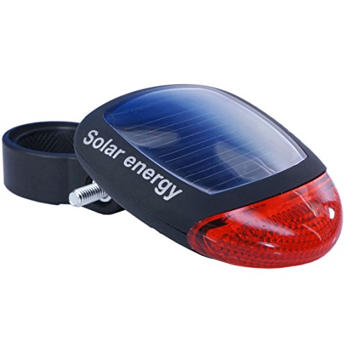 Diz+(ディズプラス) 【 3モード搭載 】 LED ソーラー リア ライト 自転車用 Solar LED light