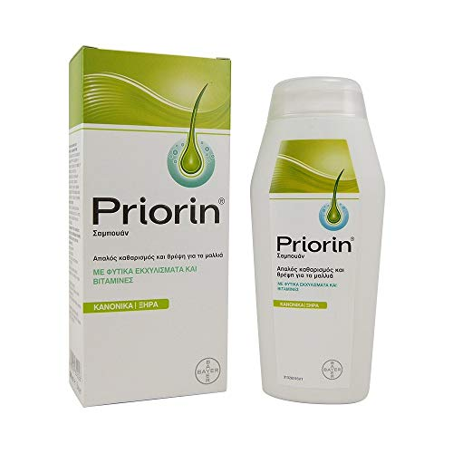 Priorin Shampoo For Greasy Hair 200 ml By priorin