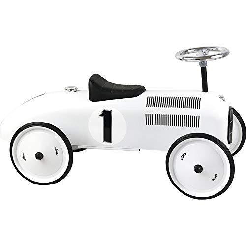 Porteur voiture vintage blanc polaire - Vilac
