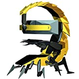 Fly YUTING Gaming Chair, Ergonomic Computer Cockpit Chair with Led Lights, Comfortable Racing Simulator Cockpit Game Chair with Hanging 3 Screens,Yellow