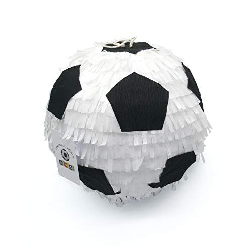 Nislai Fussball Pinata | Pinata Geburtstag | 3D-Design | das Highlight für die Beste Fussball Party | Pinata Erwachsene | Hochzeit | JGA Party