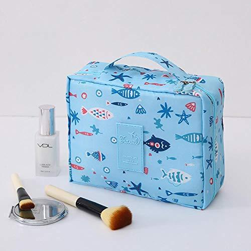 WDBZD Voyager Femmes Maquillage Sacs Hommes Femmes Cas cosmétique Sac cosmétique de Lavage Stockage Portable Tour opérateurs Pack Sacs de Toilette,H7
