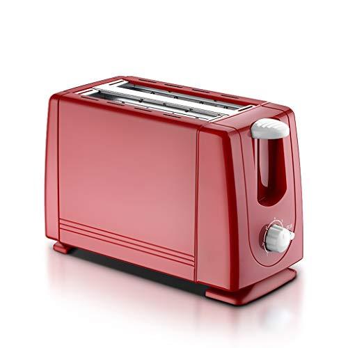 ZHongWei - Toaster Toaster, Breakfast Machine Home 2 Stück Toaster Fan Automatic Sie Spucken Fahrer Breakfast Home Frühstücksmaschine (Color : Pink)