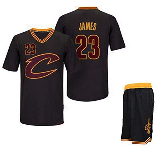 YB-DB Cleveland Cavaliers 23# Lebron James All-Star Jersey Basketball-Trikot ärmellos Sport Vest Wettbewerb Uniformen Fans (Größe: S-XXL),M (65kg~75kg)