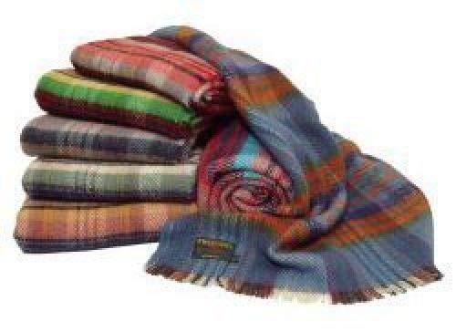Tweedmill - Manta de viaje de lana reciclada británica