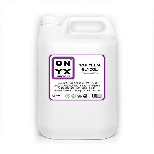 Onyx (5L) Monopropylene Glycol (PG) USP Certified Advance Premium Grade with Highest Purity – 5000ml
