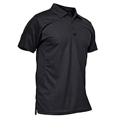 MAGCOMSEN Polo Shirts for Men T Shirts Golf Shirts Summer Shirts Work Shirts Fishing Shirts Short Sleeve Tactical Shirts Golf Polo Shirt Golf Shirts for Men