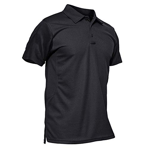 MAGCOMSEN Golf Shirts for Men Short Sleeve Tactical Shirt Combat Shirt Military Polo Shirts Polo Shirts for Men T Shirts Golf Shirts Fishing Shirts for Men