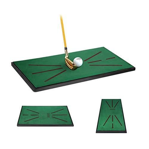 NSWDC Golfmatte Divot Simulator, Golf Turf Practice Matte/Spiel und Geschenk für Home/Office/Outdoor/Show Stick Point