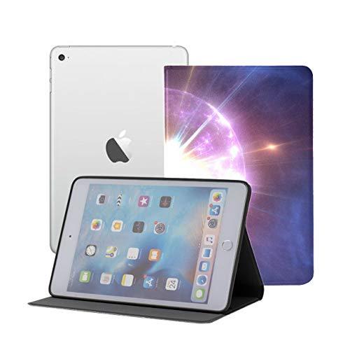 Kompatibel für iPad Mini 1/2/3 Hülle, Slim Fit Allround-Schutzhülle Big Bang Expansion Universe 3D-Standwinkel mit Auto Sleep/Wake