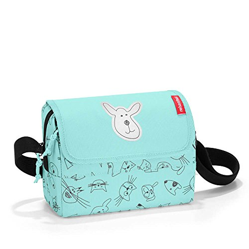 reisenthel everydaybag kids  20 x 14,5 x 10 cm 2,5 Liter cats and dogs mint