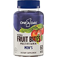 60-Count One A Day Mens Multivitamin Natural Fruit Bites