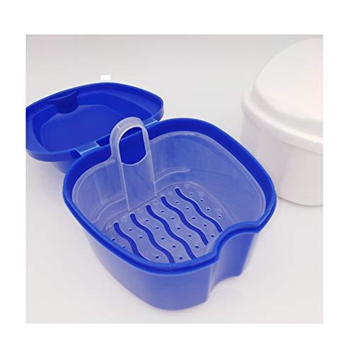 RDI Reinigungsbad Gebissdose Spangendose Aufbewahrungsdose Dose für Prothesen Zahnspangen 2 Stück