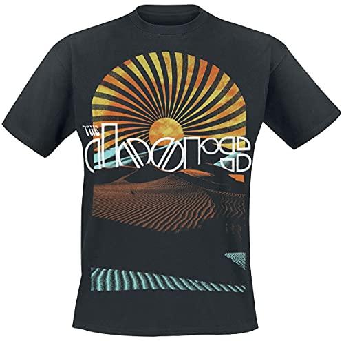 Générique The Doors Day Break Homme T-Shirt Manches Courtes Noir XXL, 100% Coton, Regular/Coupe Standard