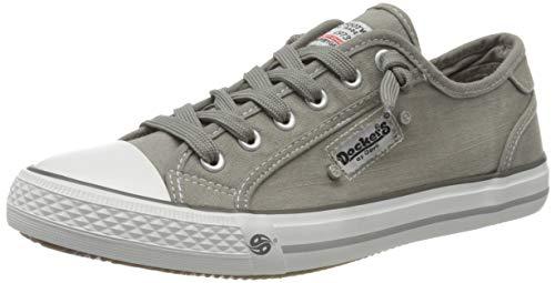 Dockers by Gerli Damen 42VE201 Sneaker, Taupe, 40 EU