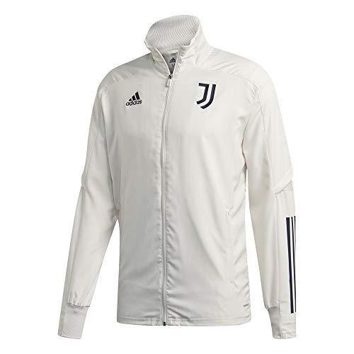adidas Juventus FC Temporada 2020/21 JUVE PRE JKT Chaqueta presentación, Unisex, Orbit Grey/Legend Ink, XL