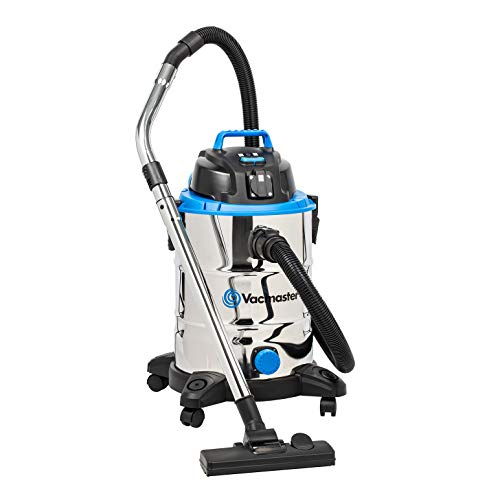 Vacmaster Wet and Dry Vacuum Cleaner 30L | Tough, Powerful 1500W Garage...
