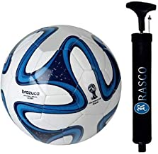 RASCO Combo Blue Football Size 5 with HIGH Pressure Pump