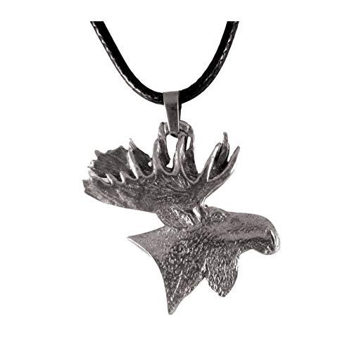 Moose Head Necklace 1662
