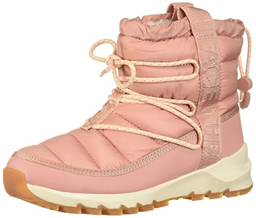 The North Face Women's Thermoball Lace Up, Pink Clay/Morning Pink, 5