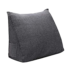 Waomax Triangular wedge readingh pillow with PP-Cotton filling