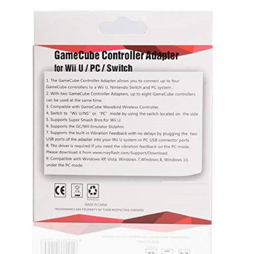 GameCube Controller Adapter (Nintendo Wii U/PC DVD/Mac OS X)