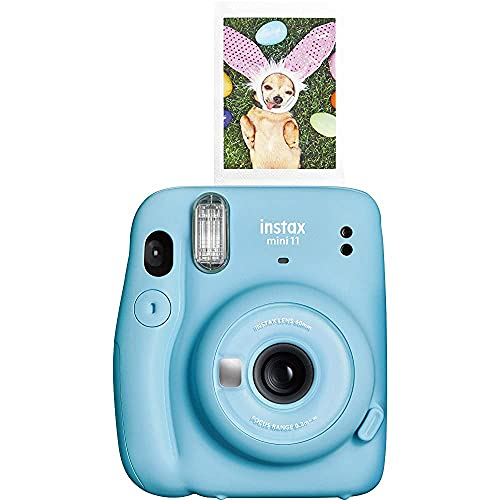 Fujifilm Instax Mini 11 Instant Camera - Sky Blue (Renewed)