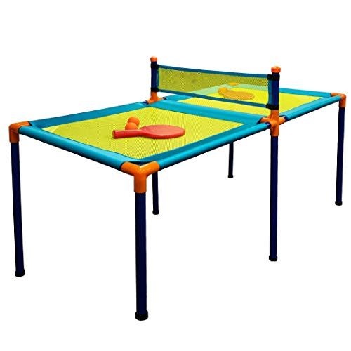 Find Discount 51 Paddle Ball Table Set - Blue/Green
