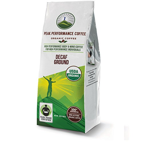 Peak Performance High Altitude Organic Decaf Coffee