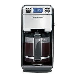 small Hamilton Beach 46205 Programmable Coffee Machine Standard