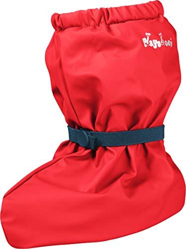 Playshoes Unisex Baby mit Fleece-Futter leichte Krabbel-Schuhe, Rot (rot 8), Medium
