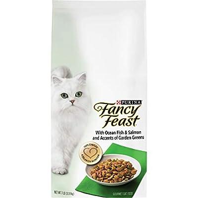 Purina Fancy Feast Dry Cat Food, With Ocean Fish & Salmon - 7 lb. Bag